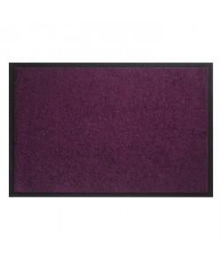 Tapis d?entrée TWISTER  Violet  90x150 cm  Support vinyl antidérapant