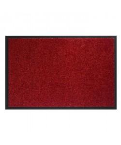 Tapis d?entrée TWISTER  Rouge  90x250 cm  Support vinyl antidérapant