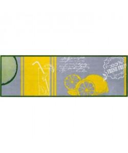 Tapis d\'entrée a motifs  50x150 cm  Style Moderne  Coloris Multicolore