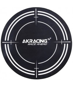 AK RACING Tapis de protection Gaming Floormat  99.5 cm de diametre  Noir