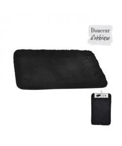 Tapis de bain 100% coton 45x75 xm Noir