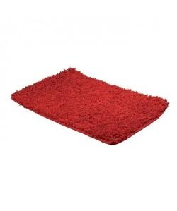 FRANDIS Tapis de bain 100% coton  50  x 80 cm  Rouge