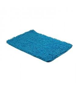 FRANDIS Tapis de bain 100% coton  50  x 80 cm   Bleu