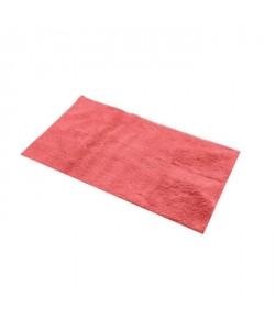 FRANDIS Tapis de bain  100% Coton  45x75 cm  Rouge