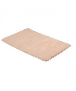 FRANDIS Tapis de bain  100% Coton  45x75 cm  Beige