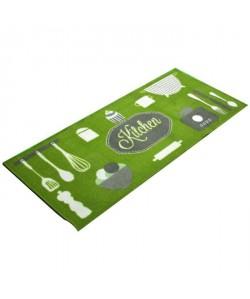 FRANDIS Tapis de cuisine Kitchen  L 50 x l 120 cm  Vert