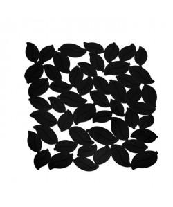 FRANDIS Tapis de fond d\'évier  Feuille PVC  L 30 x l 27 cm  Noir