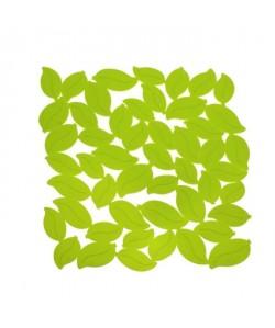 FRANDIS Tapis de fond d\'évier  Feuille PVC  L 30 x l 27 cm  Vert