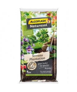 ALGOFLASH NATURASOL Terreau Plantation  40L