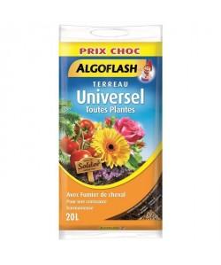 ALGOFLASH Terreau Universel  20 L  Prix choc