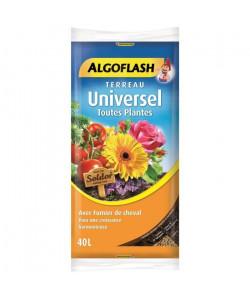 ALGOFLASH Terreau Universel Toutes Plantes  40L