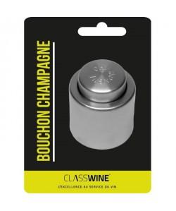Bouchon a Champagne conservateur  Argenté