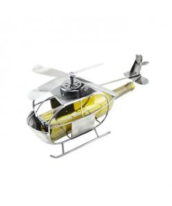 Porte bouteille métal hélicoptere