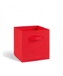 "\""COMPO CUBE 16\"" Tiroir tissu rouge"
