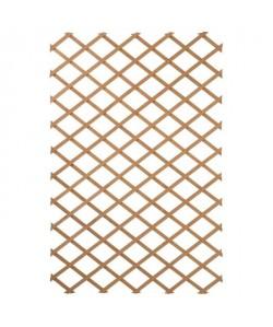 NATURE Treillis extensible en bois naturel 100x300cm  Marron