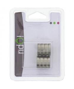 X\'PRESS Embouts pour tringle de rideaux en inox X2  Cylindrique  diametre : 16mm