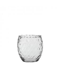 EDELMAN Yasmin Vase verre transparent  Verre  H19 x D19 cm