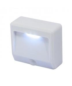 CHACON Veilleuse LED IP44 portative avec détecteur de mouvement sur pile