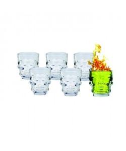 ARD\'TIME Lot de 6 verres a shot  5 cl
