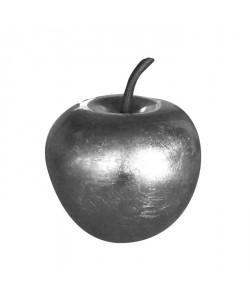 Décoration de Noël Pomme argent en polyrésine Ř25,5 x29cm