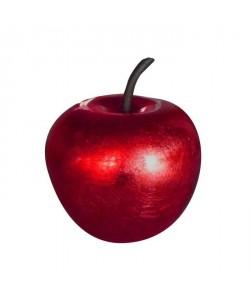 Décoration de Noël Pomme rouge en polyrésine Ř25,5 x29cm