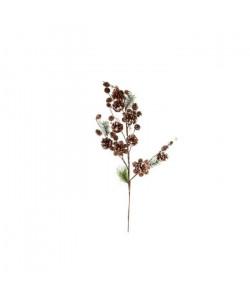 Branche de Noël naturel en osier 100 cm
