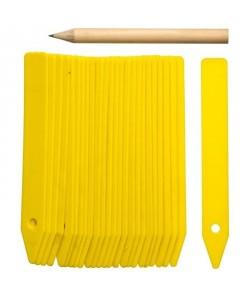 NATURE Etiquettes PVC  1 crayon