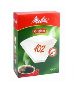 MELITTA 102 filtres a café Blanc