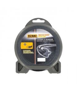 JARDIN PRATIC Fil nylon hélicoidal premium line OZAKI pour tondeuse  Ř 3,3 mm