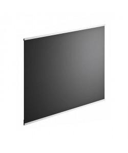 Fond de hotte en verre de 5mm d\'épaisseur  Noir  60x70cm