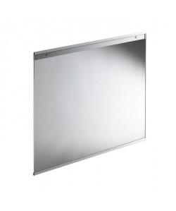 Fond de hotte en verre de 5mm d\'épaisseur Transparent  60x70cm