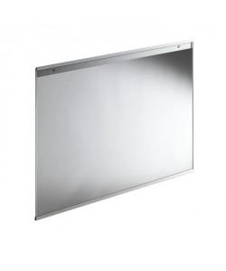 Fond de hotte en verre de 5mm d\'épaisseur Transparent  90x70cm