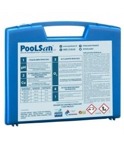 POOLSAN Kit complet de désinfection  100% sans chlore  Pour piscines de 25 a 40 mł