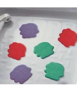 Tapis antidérapant mini pour baignoire et douche  XXS  Turtle Multicolore