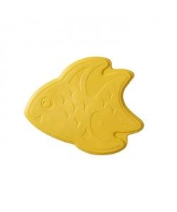 Tapis antidérapant mini pour baignoire et douche  XXS  Fish Jaune