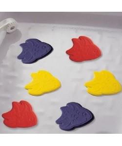 Tapis antidérapant mini pour baignoire et douche  XXS  Fish Multicolore