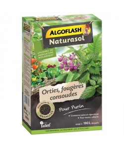 ALGOFLASH NATURASOL Orties, fougeres, consoudes pour purin  300 g