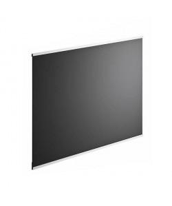 Crédence en verre de 5mm d\'épaisseur  Noir  60x45cm