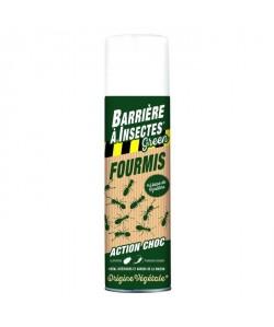 BARRIERE A INSECTES GREEN Aérosol antifourmis a base de pyrethre végétal  500 ml
