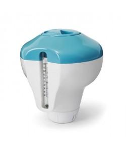 INTEX Diffuseur de produit flottant avec thermometre