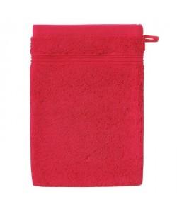 SANTENS Gant de toilette GRACE 16x22 cm  Lipstick rouge