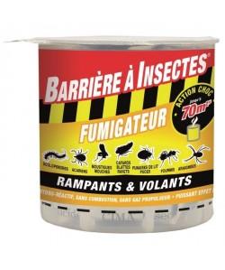 BARRIERE A INSECTES Fumigene hydro réactif pour insectes volants et rampants  10g
