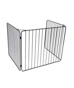 DELTA Barriere de protection Vulcain en acier noir
