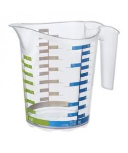 SUNDIS Pichet Domino Art 7506001 1 L 18,5x12,4x15,7 cm transparent