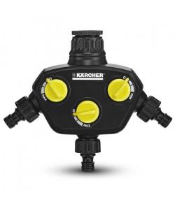 KARCHER Prise robinet  3 sorties indépendantes et réglables
