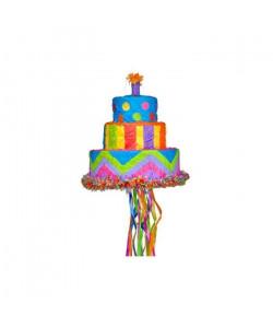 AMSCAN Pinata Gâteau d\'anniversaire