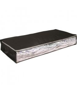 EVE Malle de rangement souple dessous de lit sous vide AIR OFF L noir 100x45x15 cm